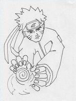 Cómo dibujar a Naruto Shippuden