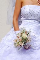Etiqueta para una recepción de boda destino