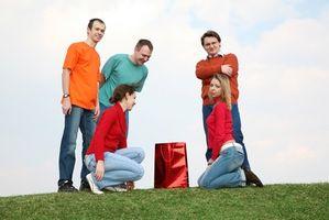 Actividades de reunión de cristianos jóvenes