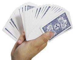 Instrucciones de tirar de tarjeta