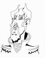 Cómo dibujar una cara mal