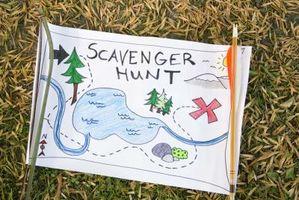 Scavenger Hunt Ideas para adultos