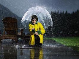 Cómo detectar la humedad en las nubes de lluvia