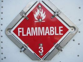 Cómo saber si algo es inflamable