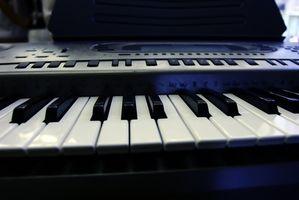 Cómo reparar malas teclas en un teclado electrónico