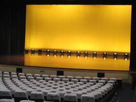 ¿Qué la gente usa para una obra de Broadway?