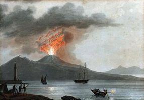 Los efectos del volcán Stromboli