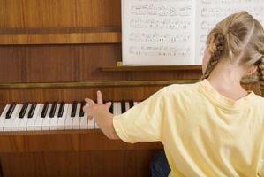 Como leer una escala de Piano