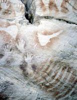 ¿Qué tipos de materiales fueron utilizados para esculpir arte rupestre?