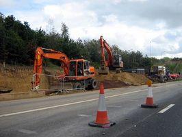 Los pasos para la construcción de una carretera