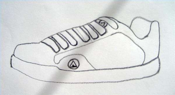 Airwalk dibujar dibujar un zapato Cómo zapato Airwalk Cómo un Cómo zwSqpw