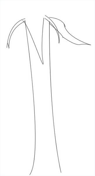 Cómo dibujar dibujos animados rosas