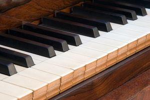 Cómo limpiar los Pianos Vintage